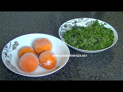 HOW TO FREEZE CORIANDER & TOMATO *COOK WITH FAIZA* - UCR9WXUxcp0bR9OWi5ersIHw