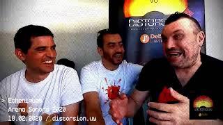 Entrevista a Echeniques previo y post show en Arena Sonora 2020 (18.02.2020)