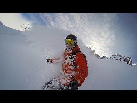GoPro Line of the Winter: David Herzig - Austria 2.28.15 - Snow