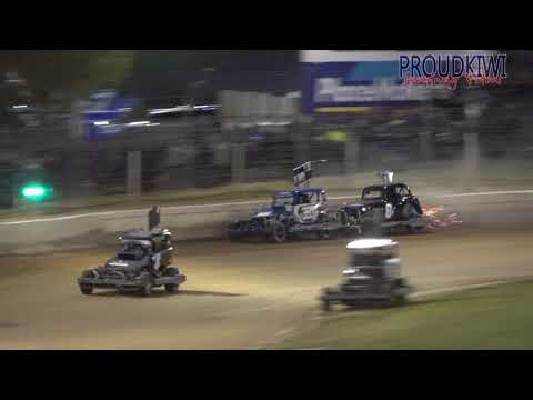Huntly Teams Qualifying Snippets 17.11.17 - dirt track racing video image