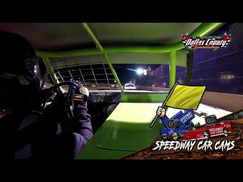 #11 Jonathan Cook - 4 Cylinder - 4-30-2021 Dallas County Speedway - In Car Camera - dirt track racing video image