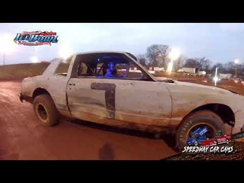 #7 Wesley Hurst - Factory Stock - Ice Bowl 2021 - Talladega Short Track - In-Car Camera - dirt track racing video image