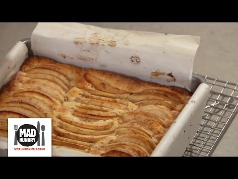 German Apple Cake Dessert - Mad Hungry with Lucinda Scala Quinn