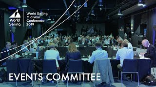 LIVE | Events Committee, Friday 17 May | Mid-Year Meeting: London 2019