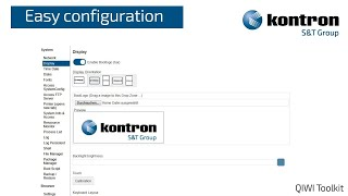 QIWI Software Toolkit Easy Configuration