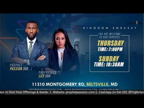 Prophetic Deliverance- LIVE! with Apostle Innocent Java