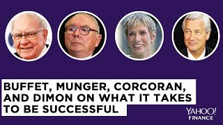 Charlie Munger, Barbara Corcoran and Jamie Dimon on being successful