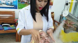 You NEED a Thai LADYBOY FACIAL in PATTAYA | Nin Barbershop