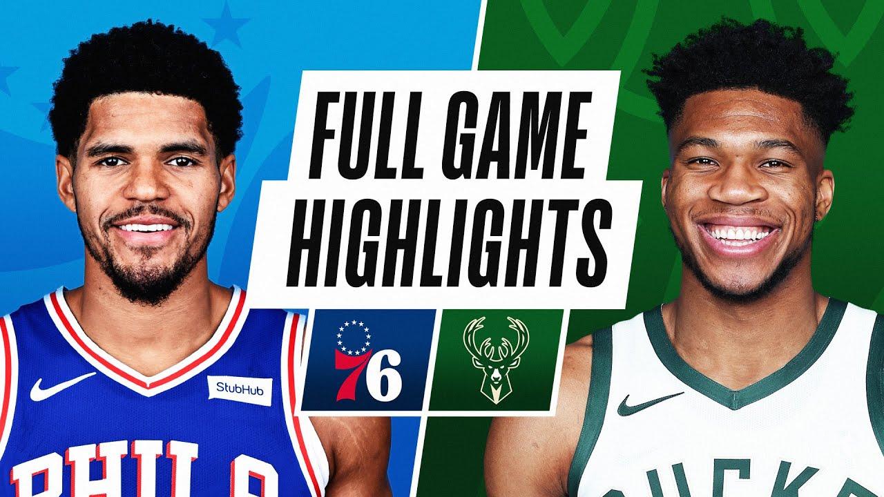 76ERS at BUCKS | FULL GAME HIGHLIGHTS | April 24, 2021