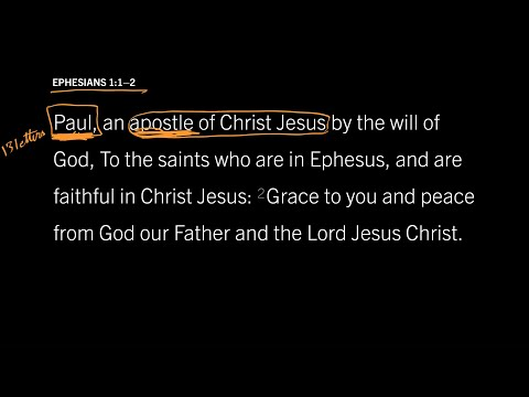 Ephesians 1:12 // Part 1 // Who Was This Man Named Paul?