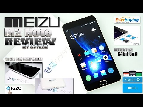 "Meizu M2 Note (In-Depth Review) 5.5"" IGZO Sharp FHD, Flyme OS/Android 5.1, MTK6753 64bit, 4G LTE - UCAYamnQW-yWfDjHnR3cyEdw"