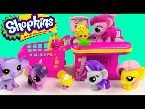 MLP Fashem's Shopkins My Little Pony GROCERY STORE Twilight Pinkie Pie Fluttershy Rarity Toy Playing - UCelMeixAOTs2OQAAi9wU8-g