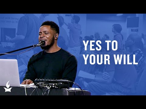 Yes to Your Will (spontaneous) -- The Prayer Room Live Moment