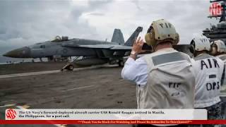 USS Ronald Reagan Arrives In the Philippines for Port Call