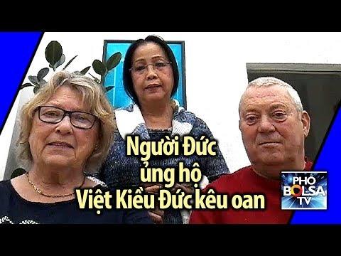 Người Đức bản xứ lên tiếng ủng hộ Việt Kiều Đức đòi công lý ở Việt Nam