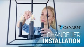 Video: How to Install a Down Rod Chandelier | Canarm