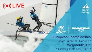 LIVE Finals Races | Volvo 49er, 49erFX and Nacra 17 European Championship 2019