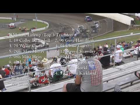 Skagit Speedway Dirt Cup Night #3 ASCS National Tour June 26th, 2021 - dirt track racing video image