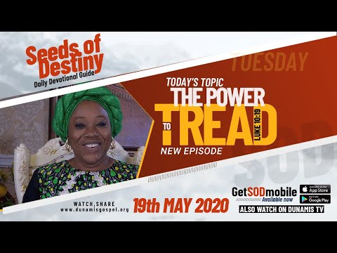 Dr Becky Paul-Enenche - SEEDS OF DESTINY  TUESDAY, 19 MAY, 2020