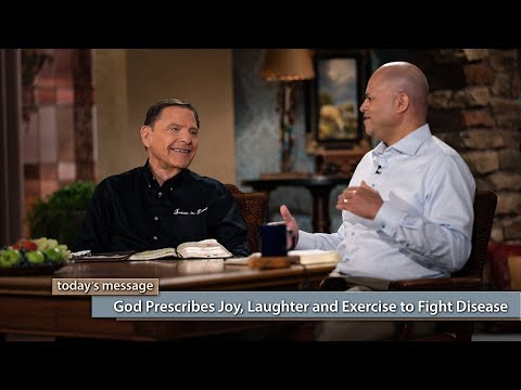 God Prescribes Joy, Laughter and Exercise to Fight Disease