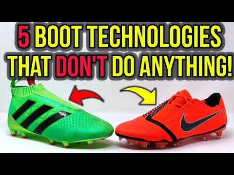 TOP 5 MOST POPULAR FOOTBALL BOOT TECHNOLOGIES THAT DON'T ACTUALLY DO ANYTHING! - UCUU3lMXc6iDrQw4eZen8COQ
