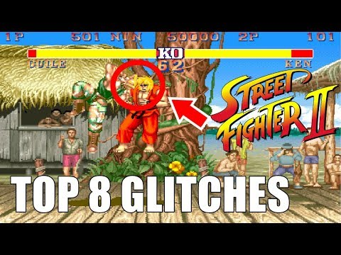 Top 8 Crazy, Funny, and Game Breaking Glitches for Street Fighter 2!!! - UCl3W4zpsOmXpqLG1V5faspQ