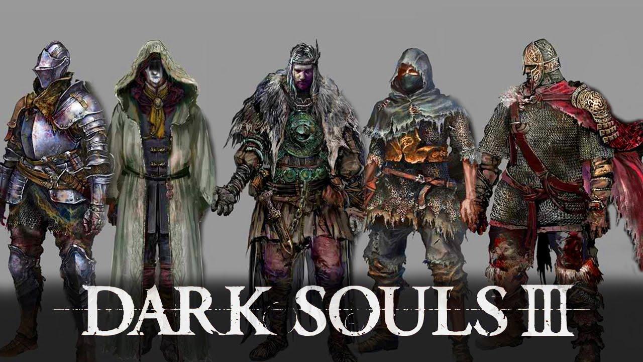 Dark Souls Classes Concept Art