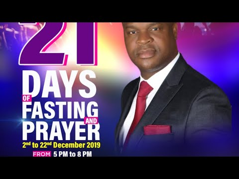 FOURSQUARE TV - DAY 14 OF 21 DAYS OF FASTING AND PRAYERS - THY KINGDOM COME - SUNDAY FIRST SERVICE