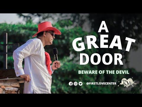 A Great Door: Beware Of The Devil   Dag Heward-Mills