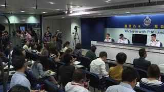 Misinformation widespread online: Hong Kong police