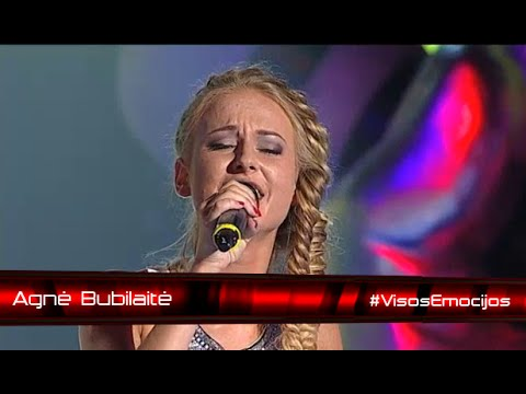 Agnė Bubilaitė - Malda (LB#3 NOKAUTAI) - voiceoflithuania