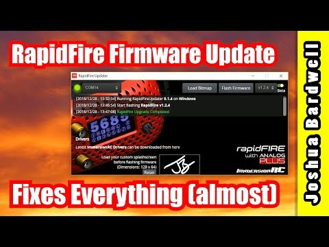 How To Update ImmersionRC RapidFire Firmware | MUST UPGRADE - UCX3eufnI7A2I7IkKHZn8KSQ