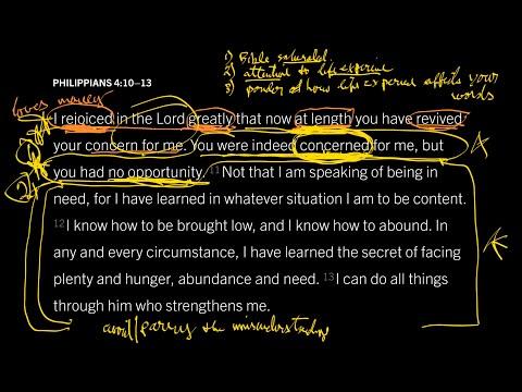 Philippians 4:1013 // Part 1 // True Honesty Minimizes Misunderstanding