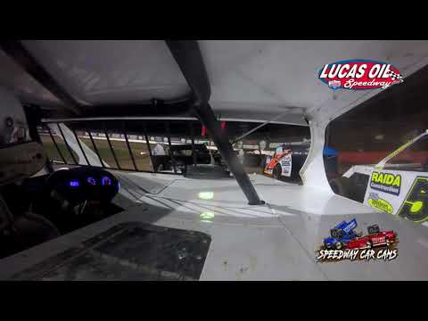 #7G Gabe Hodges - USRA B Modified - 10-8-2021 Lucas Oil Speedway - In Car Camera - dirt track racing video image