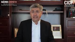 Mensaje del Presidente de la CIDH, Joel Hernández García, sobre el SACROI COVID-19