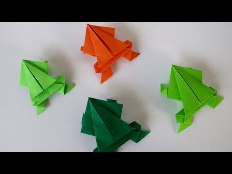 Origami Jumping Frog Leyla Torres