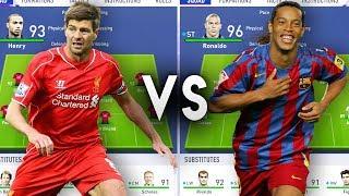 Premier League Icons VS La Liga Icons - FIFA 19 Experiment