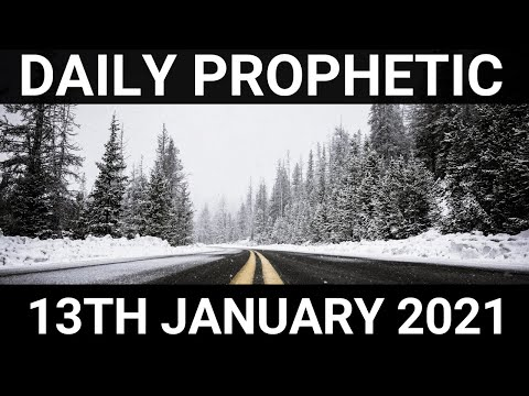 Daily Prophetic 13 January 2021 7 of 7
