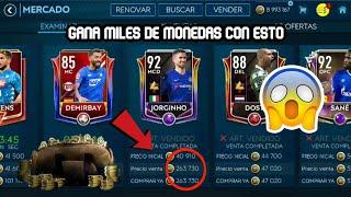 GANA MILES DE MONEDAS EN ESTE VIDEO FIFA MOBILE 19 tradeo /nuevo método/no hacks