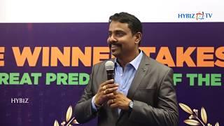 Rajgopal Madishetty - Hybiz TV | World Cup 2019 Predictions Prize Distributions