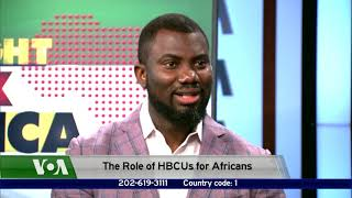 The Role of Historically Black U.S. Colleges and Universities to Africans