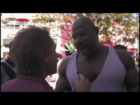 Tension Between Christian and HUGE Bodybuilder