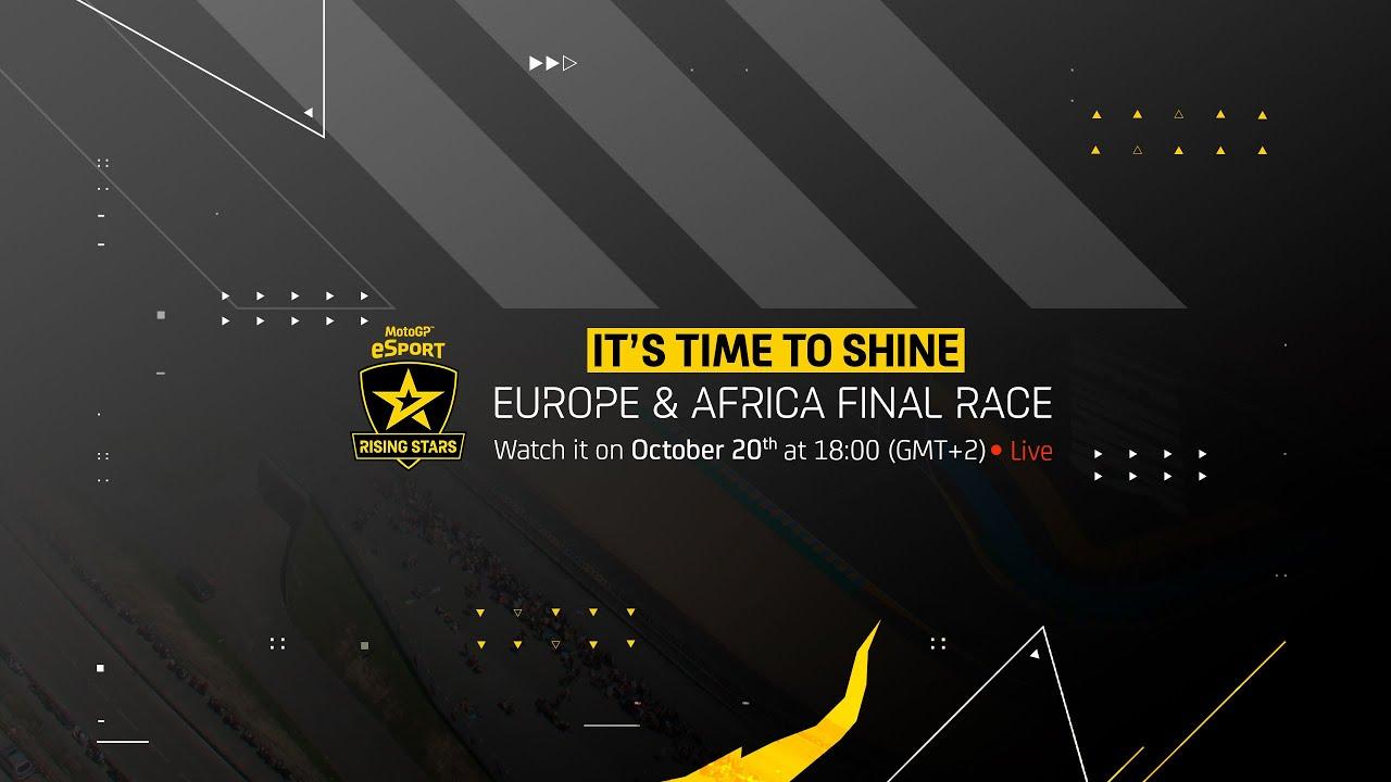 LIVE 📡   2021 MotoGPeSport Europe & Africa Rising Stars Final