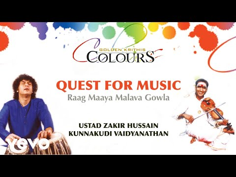 Quest For Music - Golden Krithis Colours | Ustad Zakir Hussain | Official Version - UC3MLnJtqc_phABBriLRhtgQ