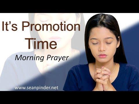 GENESIS 41 - IT'S PROMOTION TIME - MORNING PRAYER (video)