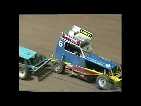 Stockcars: A-Main - Archerfield Speedway - 10.02.2001 - dirt track racing video image