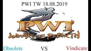PWI TW Season 17 Twilight Temple: Obsolete vs Vindicate - 18.08.2019