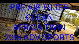Cambio filtro aria Honda Africa Twin Adventures Sports