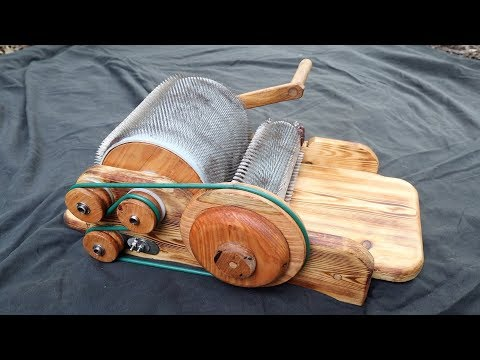 Hand Made Drum Carder As A Present For My Girlfriend - UC5rT7F0PGNuD54rJ9kzgWzw