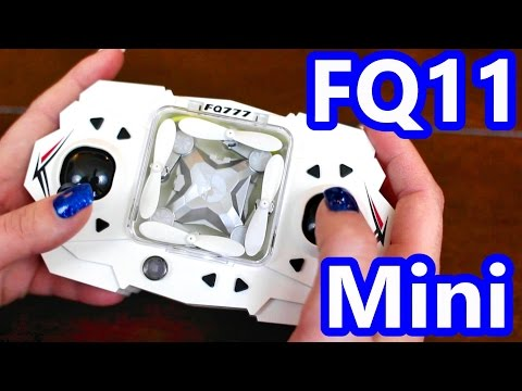 Mini FPV Camera Drone With Folding Arms - FQ11W Quadcopter - TheRcSaylors - UCYWhRC3xtD_acDIZdr53huA